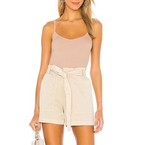 Sanctuary Beige High Waisted Daily Short